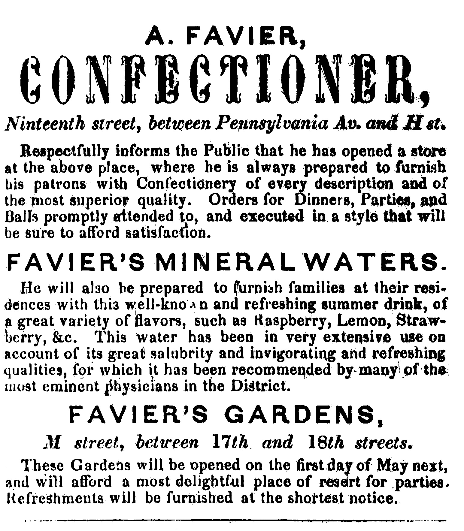 1846 Washington Directory