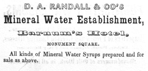 1842 Randall & Co. Advertisement