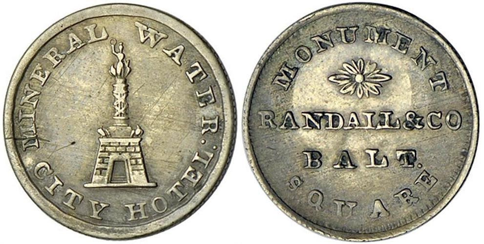 Randall & Co. Token (Courtsey Stacks Rare Coins)