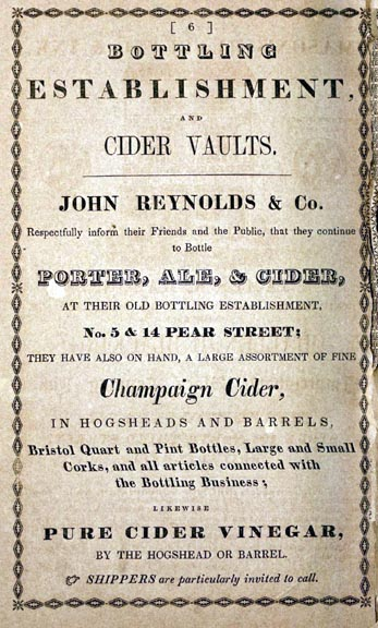 Reynolds & Co. Ad circ: 1845