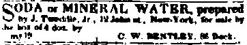 1843 Tweddle Ad Albany Evening Journal